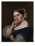 Portrait of Mme Ingres Poster by Jean-Auguste-Dominique Ingres