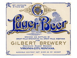 Gilbert Brewery Lager Beer Prints
