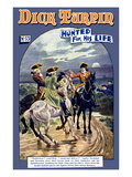 Dick Turpin: Hunted for his Life Prints