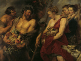 Diana's Return From the Hunt Posters by Peter Paul Rubens