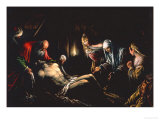Entombment of Christ Giclee Print by Jacopo Bassano
