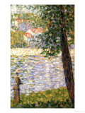 Morning Stroll Giclee Print by Georges Seurat