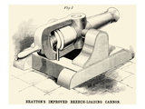 Brayton's Improved Breech-loading Cannon Prints