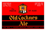 Old Cockney Ale Posters