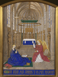 Annunciation To Mary Giclee Print by Jean Fouquet