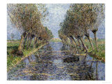 Willows By the Water Giclee Print by Paul Baum