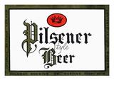 Pilsener Style Beer Posters