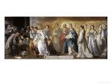 Death of St.Clare Giclee Print by Bartolome Esteban Murillo