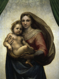 The Sistine Madonna Print by  Raphael