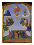 Worshipping the Holy Ghost Poster by Jean Fouquet