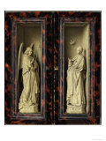 Angel of the Annunciation Giclee Print by  Jan van Eyck