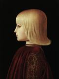Portrait of a Boy Poster by  Piero della Francesca