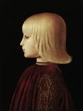Portrait of a Boy Poster by  Piero della Francesca