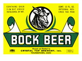 Bock Beer Poster