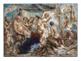Diana's Rest Giclee Print by Jacob Jordaens