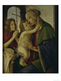 Madonna With Child and Saint John Giclee Print by Sandro Botticelli