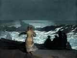 Summer Night Posters by Winslow Homer