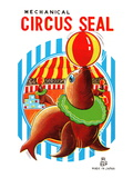 Mechanical Circus Seal Poster