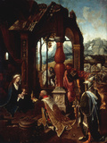 The Adoration of the Kings Giclee Print by Jan De Beer