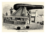 Rodman's Mammoth Cannon Póster