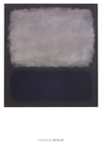 Blue & Gray, 1961 Poster by Mark Rothko