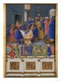 St. John at Communion Poster by Jean Fouquet