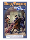 Dick Turpin: Caged in a Madhouse Prints