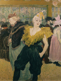 The Clowness Chaukao Posters by Henri de Toulouse-Lautrec