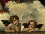 The Sistine Madonna Posters by  Raphael