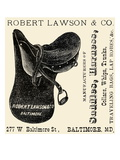 Robert Lawson and Co. Manufacturers Poster