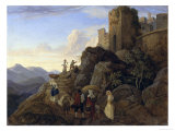 Civitella Giclee Print by Ludwig Richter