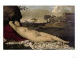 Venus Resting Posters by  Giorgione