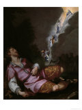 Jacob's Dream of the Heavenly Ladder Giclee Print by Ludovico Cardi Cigoli