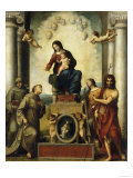 Madonna of Saint Francis Posters by  Correggio