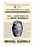 Mengel Beer Barrels Prints
