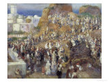 The Mosque Print by Pierre-Auguste Renoir