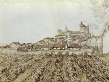 View of Saintes-Maries Giclee Print by Vincent van Gogh