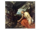 St. Jerome Giclée-Druck von Sir Anthony Van Dyck