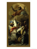 The Vision of St. Anne Print by Giovanni Battista Tiepolo
