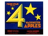 Four Star Brand Washington Apples Prints
