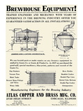 Brewhouse Equipment Affiche