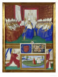 St. Hilary Giclee Print by Jean Fouquet
