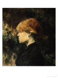 Young Woman With Red Hair Lámina giclée por Henri de Toulouse-Lautrec