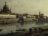 View of Dresden Giclee Print by  Canaletto