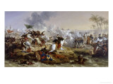 Battle of the Pyramids Giclée-Druck von Francois Andre Vincent