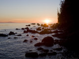 Sunset on the Pacific Northwest Coast of Vancouver Island Photographic Print by Taylor S. Kennedy