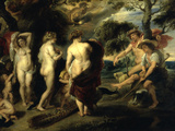 The Judgement of Paris Posters by Peter Paul Rubens