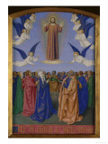 Ascension of Christ Giclee Print by Jean Fouquet