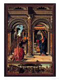 Annunciation Giclee Print by Francesco del Cossa