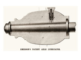 Emerson's Patent Axel Lubricator Póster